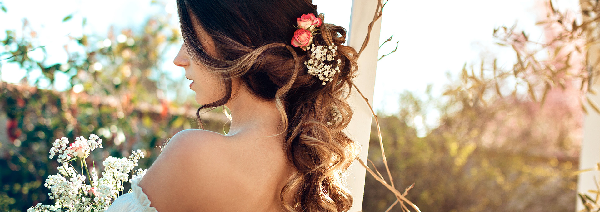 slide photographie coiffure Mariage